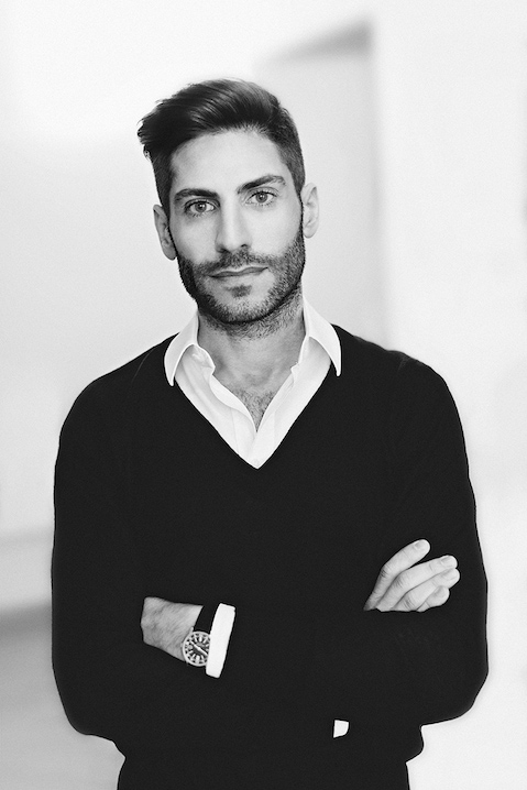 Portrait of Alessandro Sicoli, Head of PR at Italia Independent