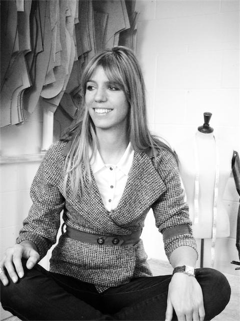 Portrait of fashion designer Anne-Sophie Koehler