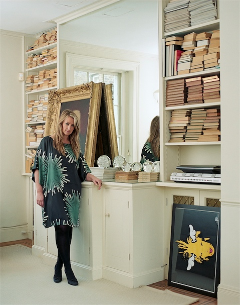 Portrait of fashion designer Anya Hindmarch