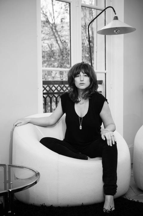 Portrait of fashion designer Barbara Bonner