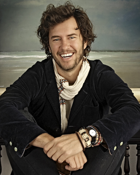 Portrait of Blake Mycoskie of TOMS