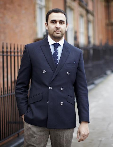 Portrait of Craig Landale of Menswear Style