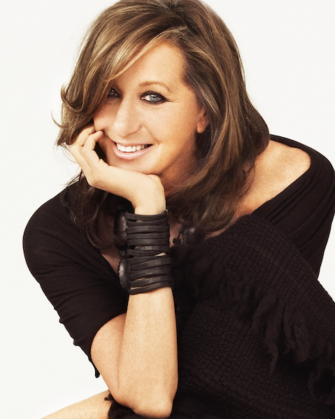 Portrait of fashion designer Donna Karan