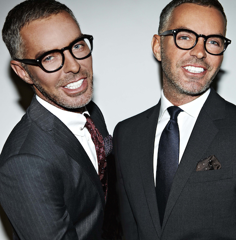 Portrait of Dean and Dan Caten of Dsquared2