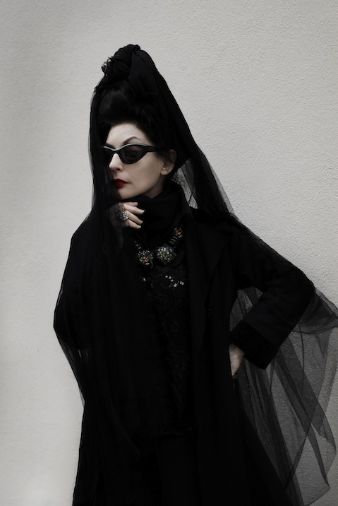 Portrait of Diane Pernet of A Shaded View on Fashion