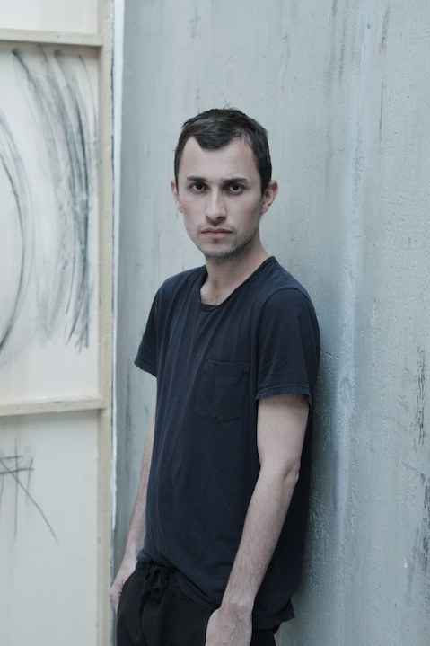 Portrait of fashion designer Esteban Cortázar