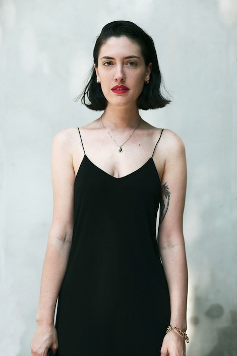 Portrait of Italian fashion stylist Fabiana Fierotti