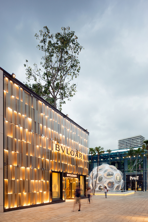 Luxury boutiques in Miami