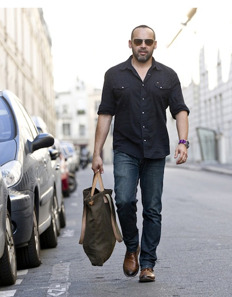 Footwear designer George Esquivel