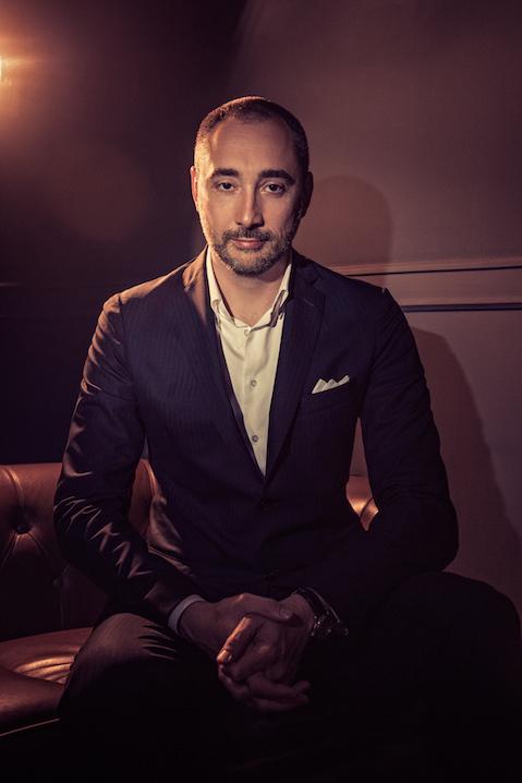 Portrait of GianMario Motta of LuxHub