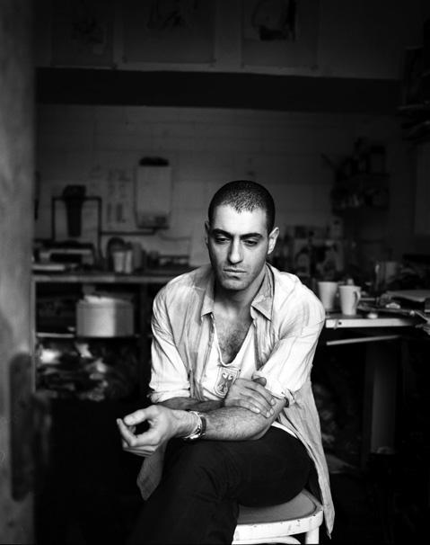 Portrait of Husam El Odeh by Tomoko Suwa