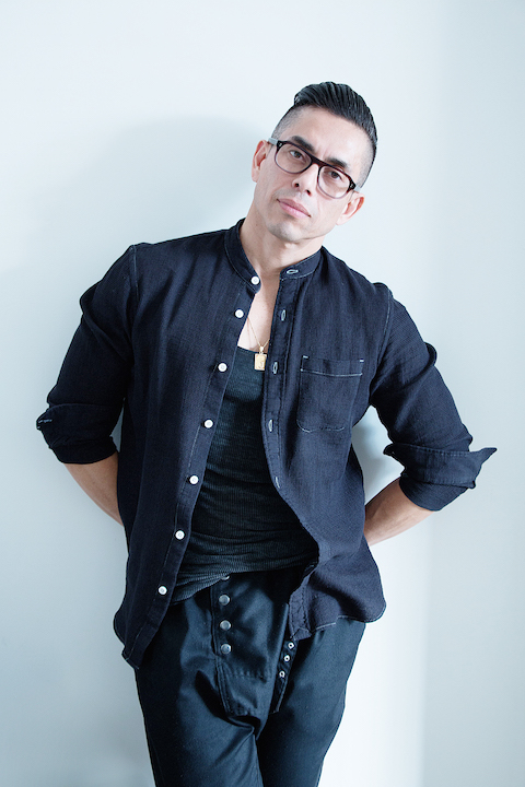 Portrait of architect Javier Robles