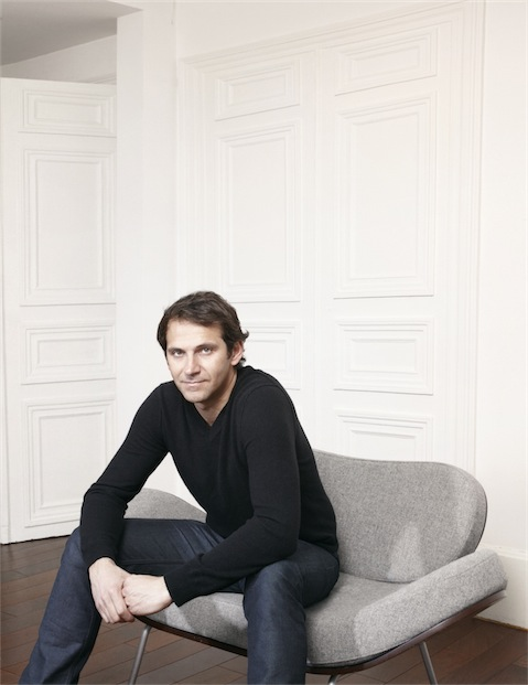 Portrait of interior designer Jean Marc Gady