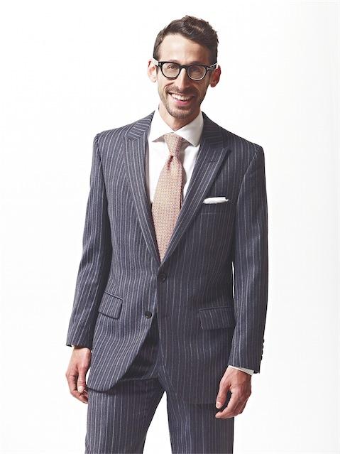 Portrait of Jeremy Freed of Sharp Magazine