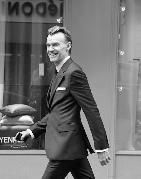 Portrait of Ken Downing of Neiman Marcus