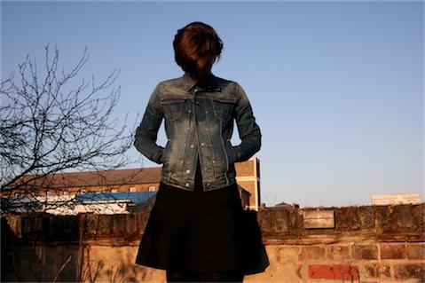 Portrait of Madelaine Levy of Bon Magazine