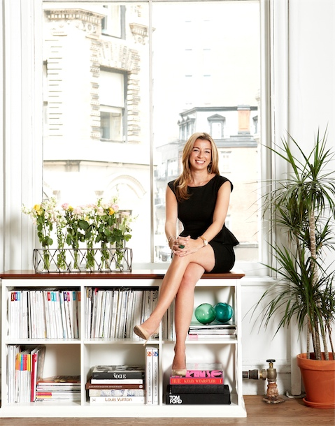 Portrait of Marissa Evans, founder of fashion startup Go Try It On