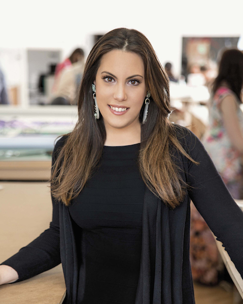 Portrait of fashion designer Mary Katrantzou
