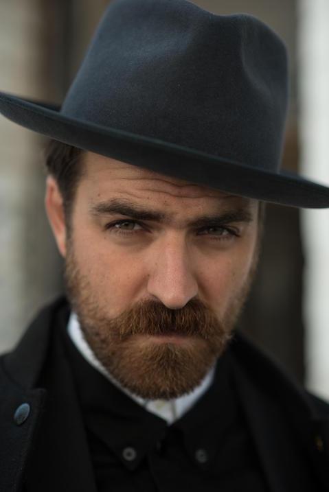 Portrait of Matteo Gioli of Super Duper Hats
