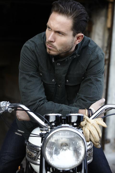 Fashion designer Matteo Gottardi