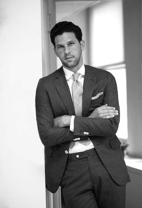 Portrait of Matthew Singer of Neiman Marcus