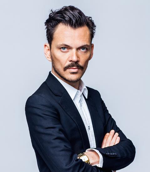 Portrait of fashion designer Matthew Williamson
