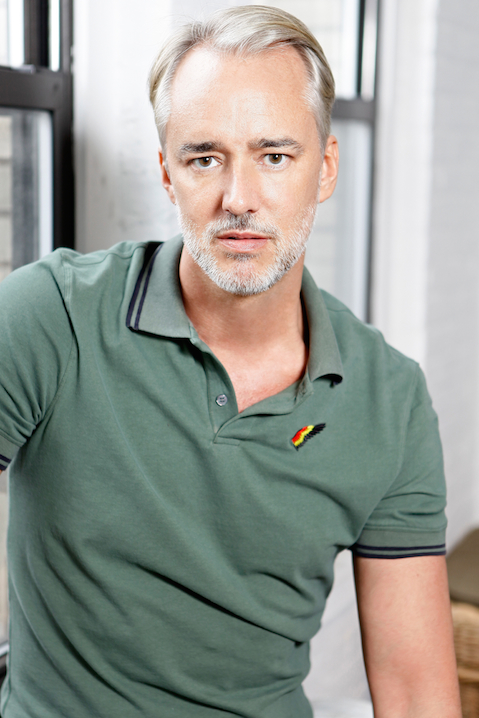 Portrait of fashion designer Michael Bastian