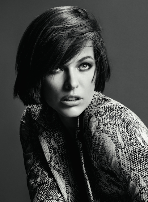 Portrait of Milla Jovovich for Marella