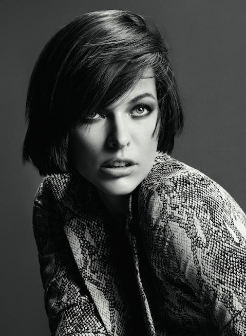 Portrait of Milla Jovovich for Marella