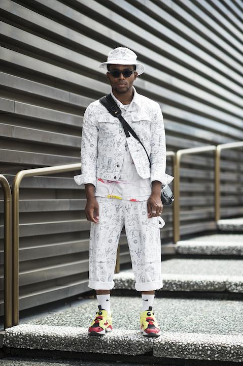 Portrait of street style photographer Nabile Quenum by Adam Katz Sinding