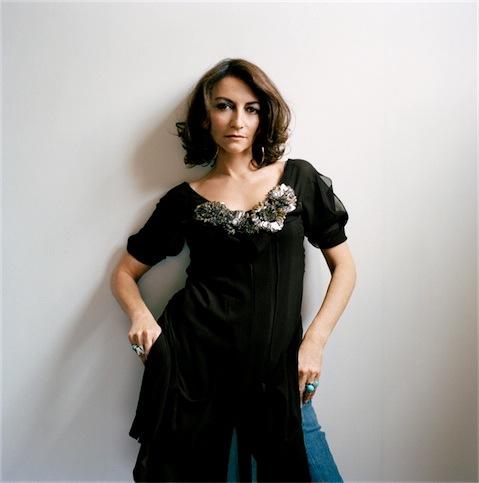 Portrait of fashion designer Nathalie Rykiel