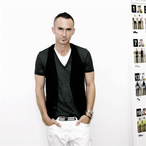 Portrait of fashion designer Neil Barrett