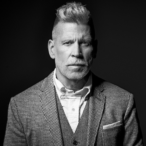 Portrait of Nick Wooster