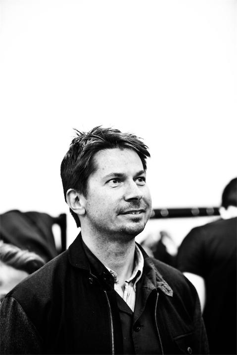 Portrait of fashion designer Oliver Spencer