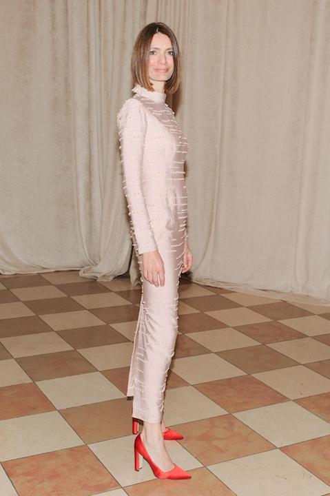 Plum Sykes of Vogue Magazine