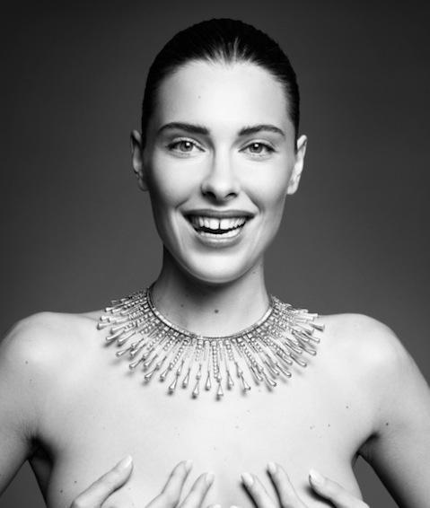 Fashion model Sara Brajovic