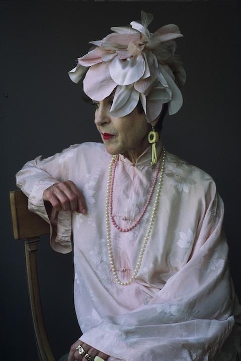 Portrait of Tziporah Salamon of Advanced Style