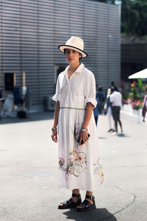 Portrait of Veronica Cornacchini of SuperDuper Hats