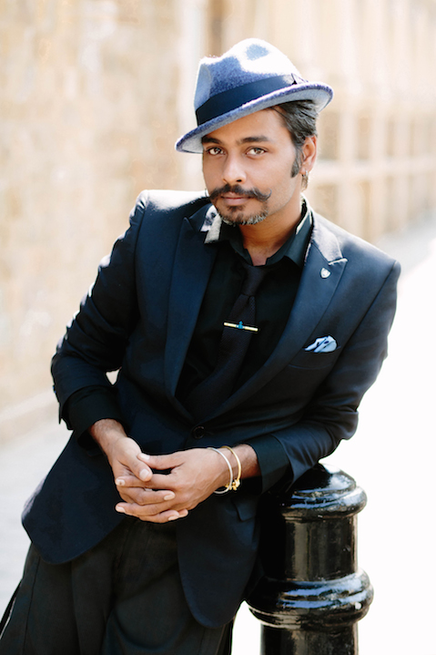 Portrait of Vijendra Bhardwaj of GQ India