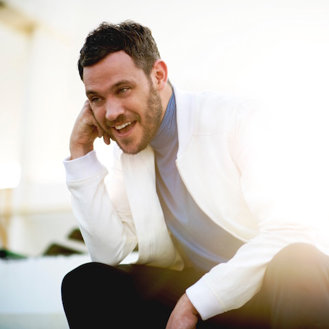 Portrait of British singer Will Young