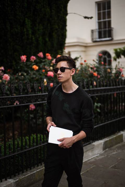 Portrait of fashion blogger Frank Lin