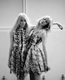 Annette and Daniela Felder